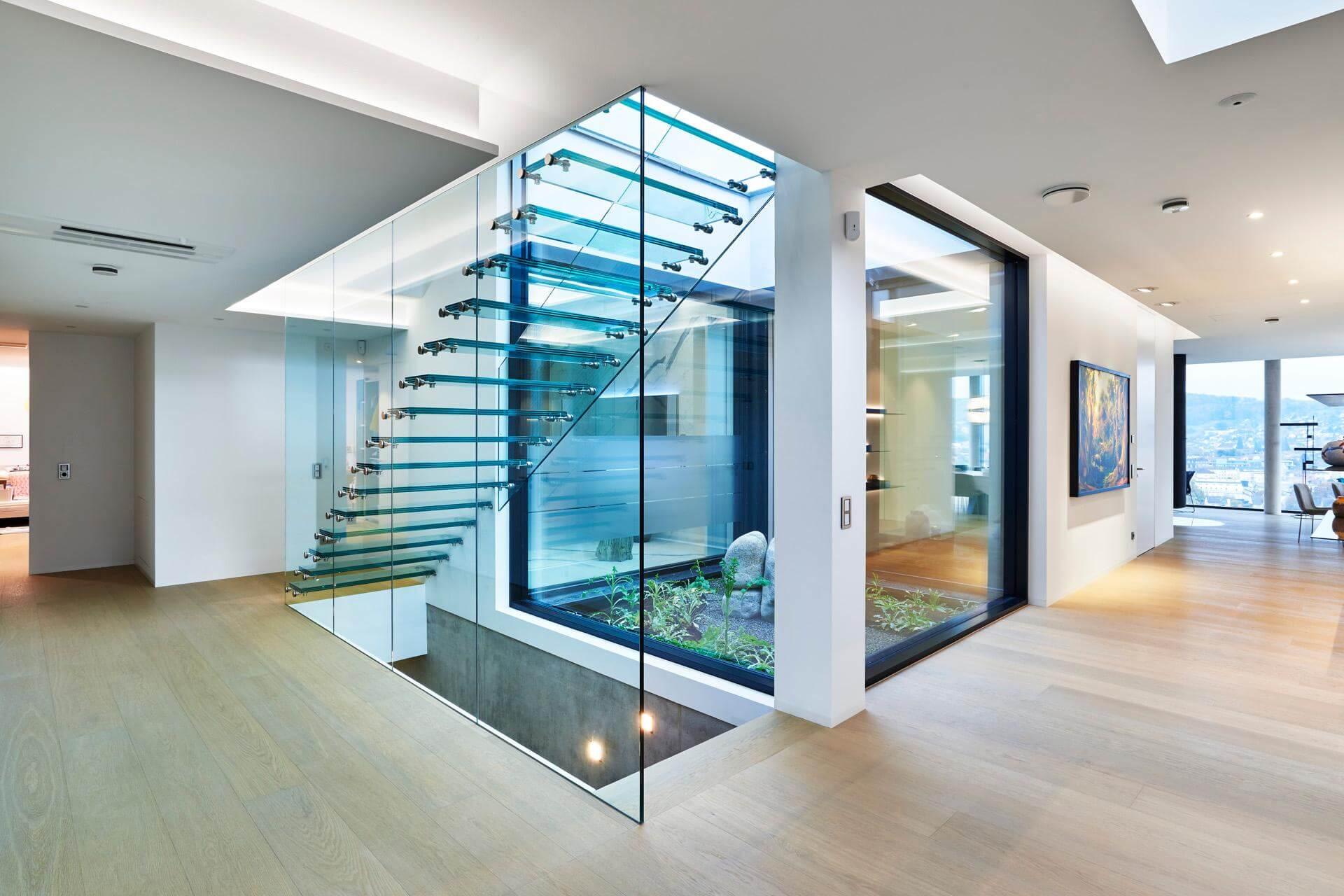 treppe komplett aus glas. Black Bedroom Furniture Sets. Home Design Ideas