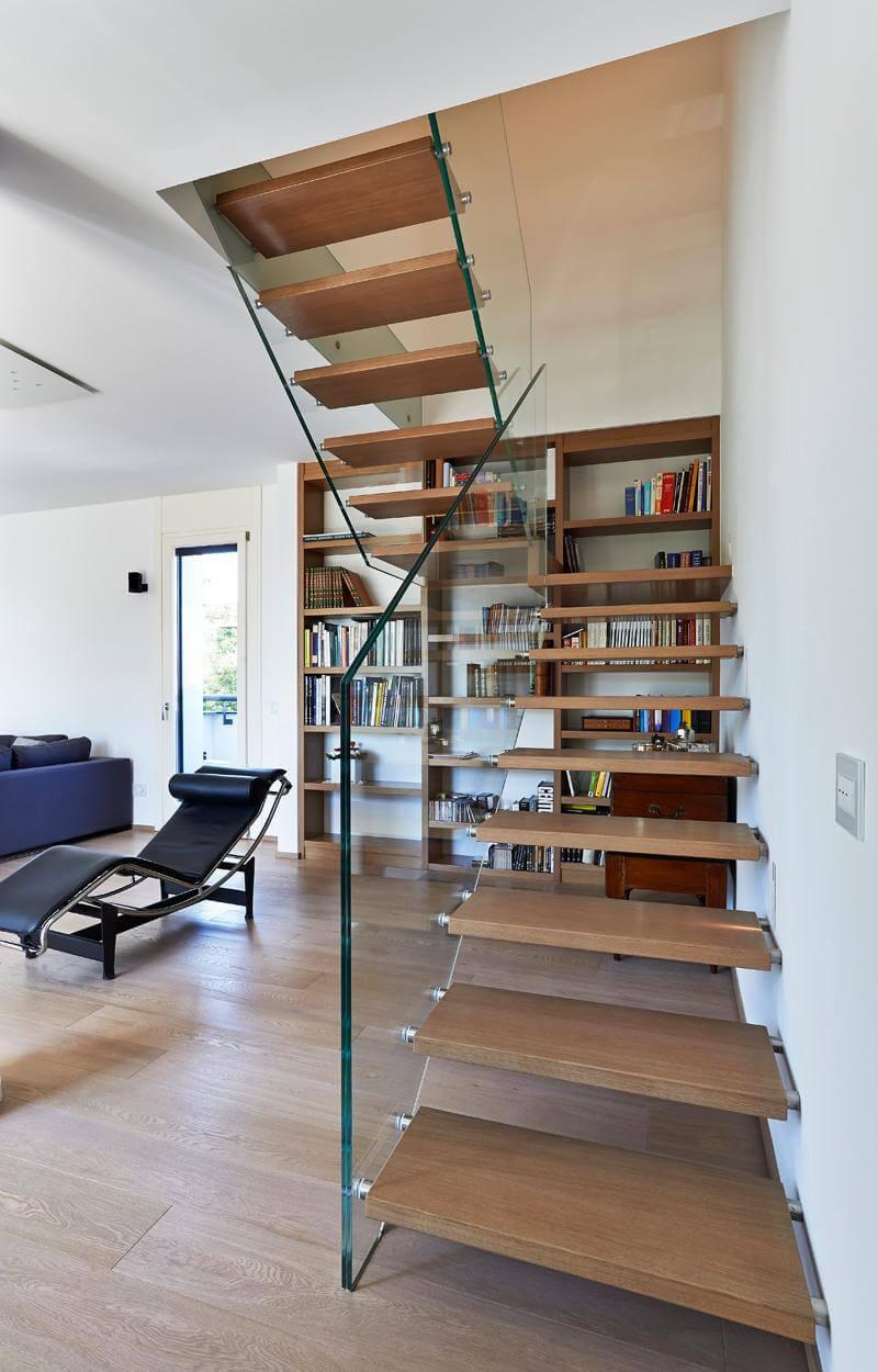 glastreppen. Black Bedroom Furniture Sets. Home Design Ideas